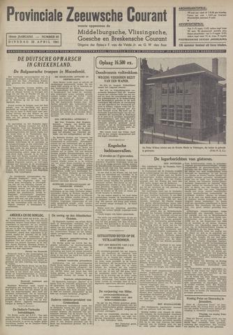 Provinciale Zeeuwse Courant 1941-04-22