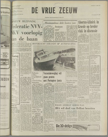 de Vrije Zeeuw 1974-05-14