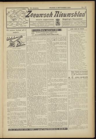 Zeeuwsch Nieuwsblad/Wegeling's Nieuwsblad 1935-09-06