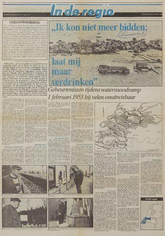 Watersnood documentatie 1953 - kranten 1988