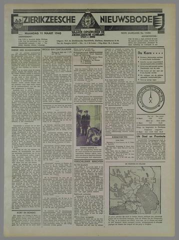 Zierikzeesche Nieuwsbode 1940-03-11