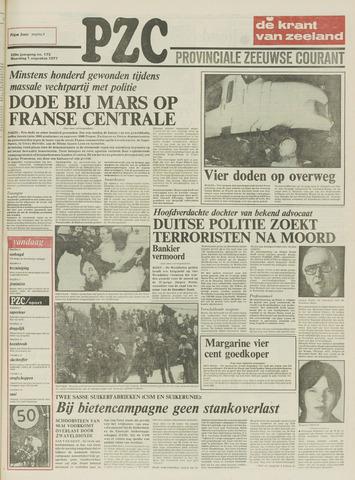Provinciale Zeeuwse Courant 1977-08-01