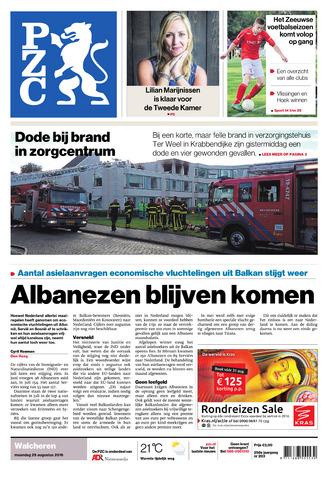 Provinciale Zeeuwse Courant 2016-08-29