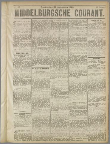 Middelburgsche Courant 1922-08-24