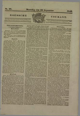 Goessche Courant 1842-09-26