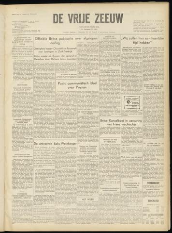de Vrije Zeeuw 1956-07-09