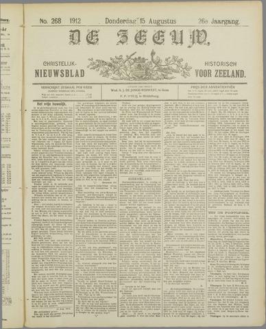 De Zeeuw. Christelijk-historisch nieuwsblad voor Zeeland 1912-08-15