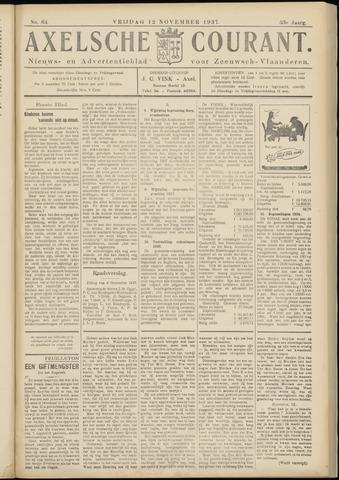 Axelsche Courant 1937-11-12