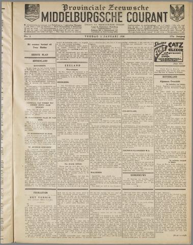 Middelburgsche Courant 1930-01-03
