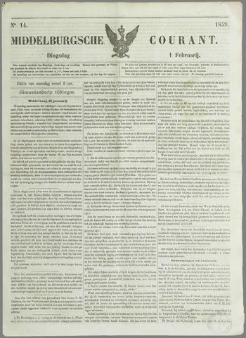 Middelburgsche Courant 1859-02-01