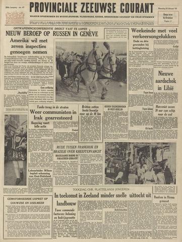 Provinciale Zeeuwse Courant 1963-02-25