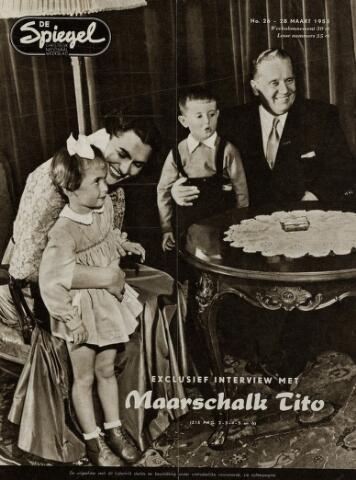 Watersnood documentatie 1953 - tijdschriften 1953-03-28