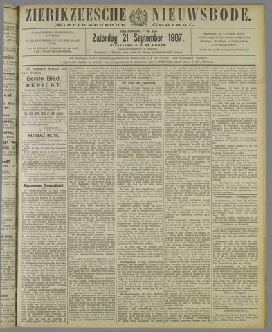 Zierikzeesche Nieuwsbode 1907-09-21