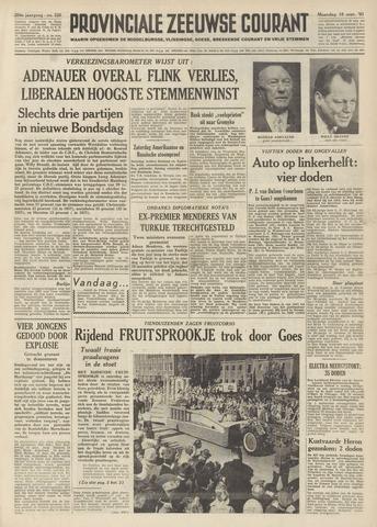 Provinciale Zeeuwse Courant 1961-09-18