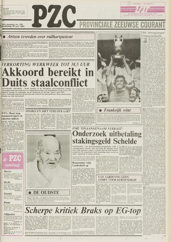 Provinciale Zeeuwse Courant 1984-06-28