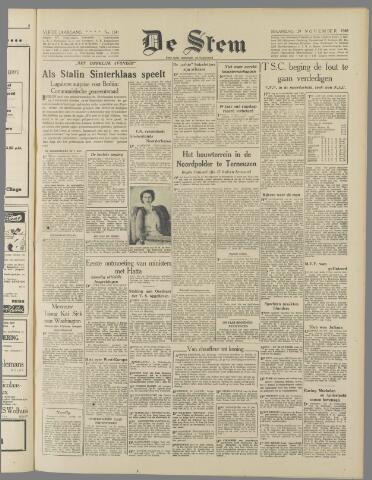 de Stem 1948-11-29