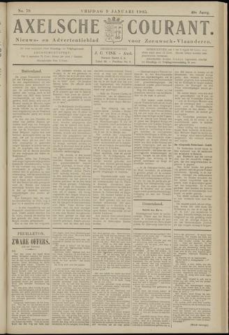 Axelsche Courant 1925-01-09