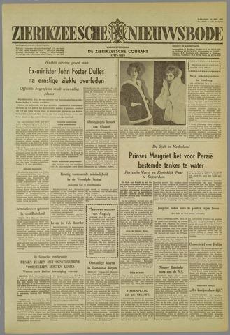 Zierikzeesche Nieuwsbode 1959-05-25