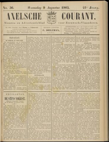 Axelsche Courant 1905-08-09