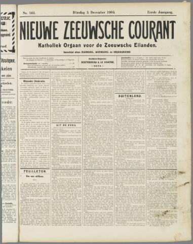Nieuwe Zeeuwsche Courant 1905-12-05