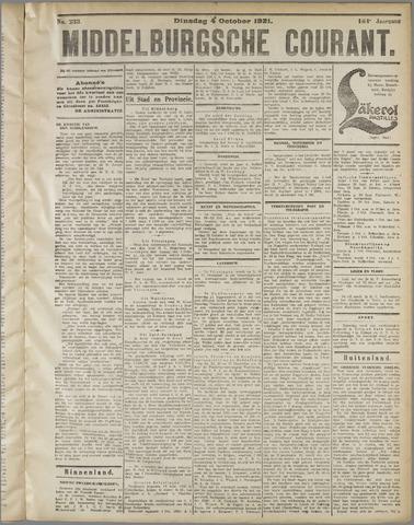 Middelburgsche Courant 1921-10-04