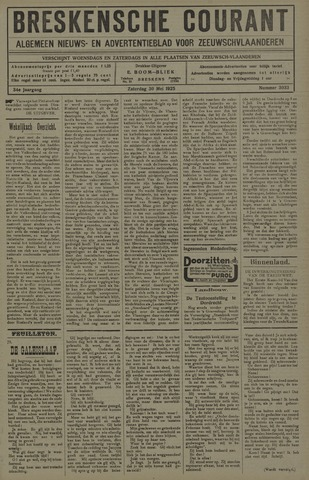 Breskensche Courant 1925-05-30