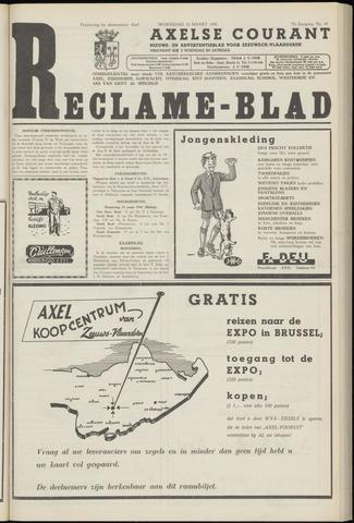 Axelsche Courant 1958-03-12