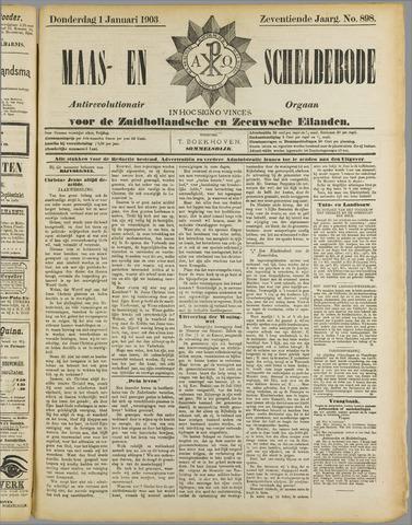 Maas- en Scheldebode 1903
