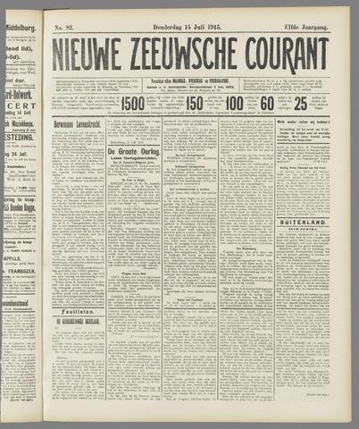 Nieuwe Zeeuwsche Courant 1915-07-15