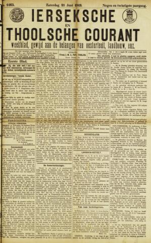 Ierseksche en Thoolsche Courant 1913-06-21