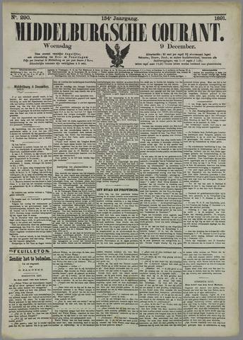 Middelburgsche Courant 1891-12-09