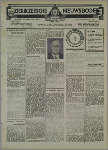 Zierikzeesche Nieuwsbode 1936-08-15