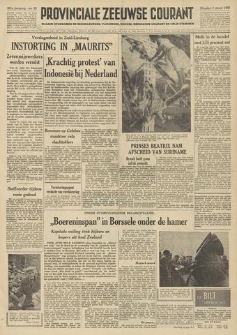 Provinciale Zeeuwse Courant 1958-03-04
