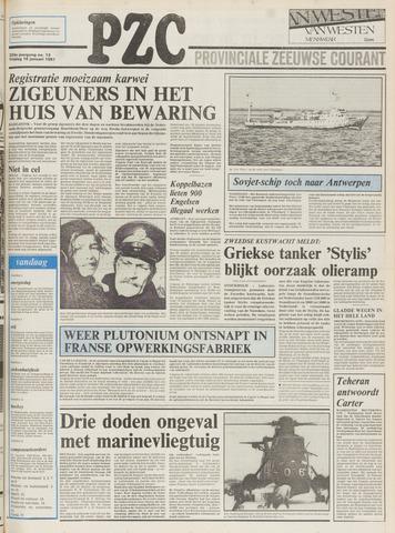 Provinciale Zeeuwse Courant 1981-01-16