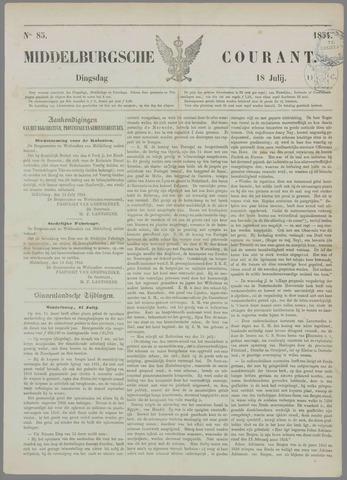 Middelburgsche Courant 1854-07-18