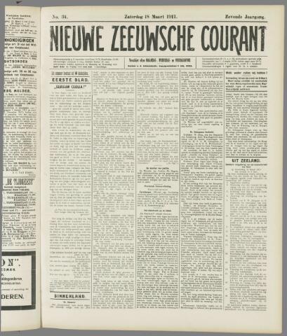 Nieuwe Zeeuwsche Courant 1911-03-18