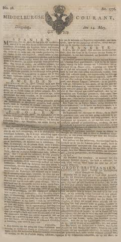 Middelburgsche Courant 1776-05-14
