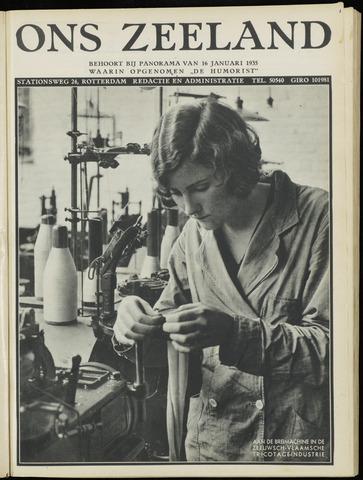 Ons Zeeland / Zeeuwsche editie 1935-01-16