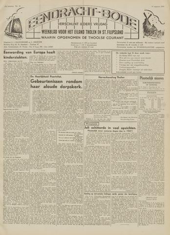 Eendrachtbode (1945-heden)/Mededeelingenblad voor het eiland Tholen (1944/45) 1959-08-14