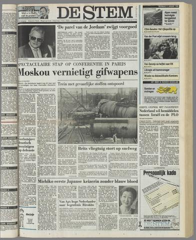 de Stem 1989-01-09
