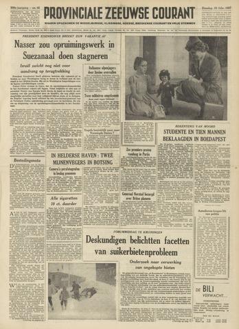 Provinciale Zeeuwse Courant 1957-02-19