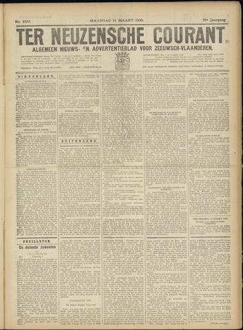 Ter Neuzensche Courant. Algemeen Nieuws- en Advertentieblad voor Zeeuwsch-Vlaanderen / Neuzensche Courant ... (idem) / (Algemeen) nieuws en advertentieblad voor Zeeuwsch-Vlaanderen 1930-03-31