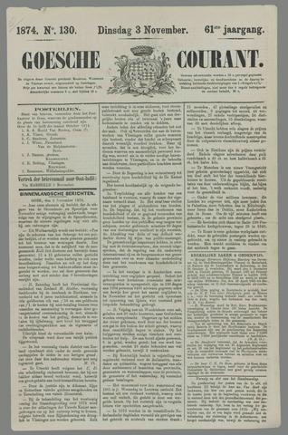 Goessche Courant 1874-11-03