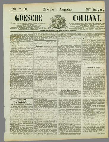 Goessche Courant 1891-08-01