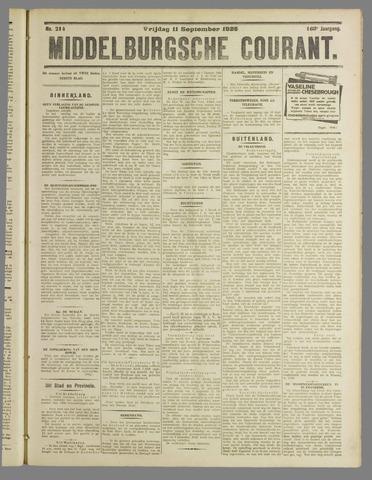 Middelburgsche Courant 1925-09-11