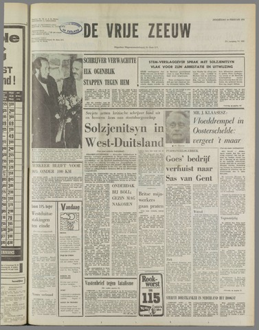 de Vrije Zeeuw 1974-02-14