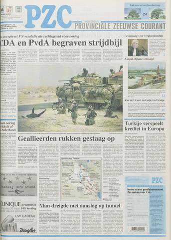 Provinciale Zeeuwse Courant 2003-03-25
