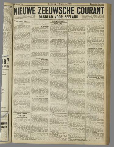 Nieuwe Zeeuwsche Courant 1920-09-16