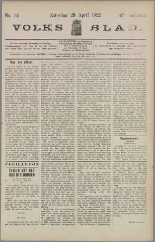 Volksblad 1922-04-29