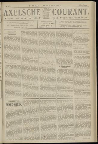 Axelsche Courant 1924-11-04